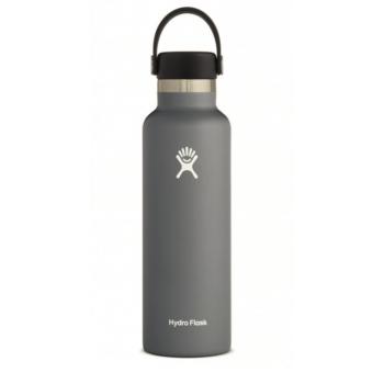 Hydro Flask Gourde Ouverture Standard 621ml (21 Oz Standard Mouth With Flex Cap ) Bouteille Multi-Activités sports-montagnes • Sports et Montagne