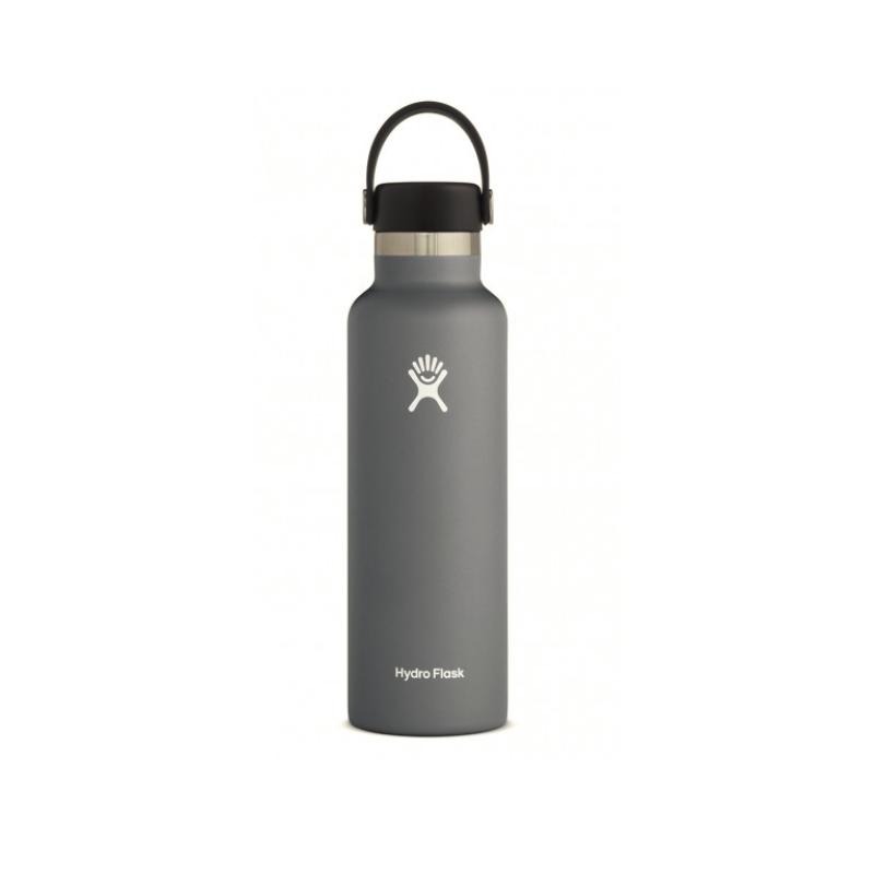 Hydro Flask Gourde Ouverture Standard 621ml (21 Oz Standard Mouth With Flex Cap ) Bouteille Multi-Activités sports-montagnes