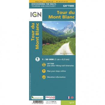 IGN TOUR DU MONT BLANC IGN