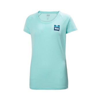 HELLY HANSEN W NORD GRAPHIC DROP TSHIRT FEMME HELLY-HANSEN SPORTS-MONTAGNES.COM