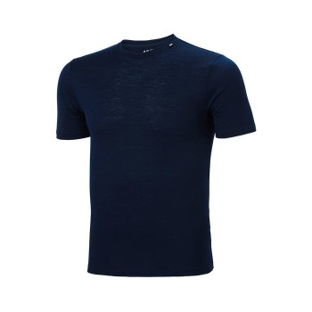 HELLY-HANSEN TEE SHIRT LIGHT LAINE MÉRINOS HOMME HH SPORTS-MONTAGNES.COM