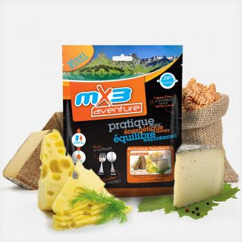 MX3 Pâtes aux 3 Fromages    491 Kcal SPORTS-MONTAGNES • Sports et Montagne