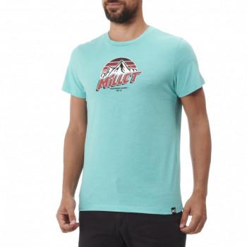 miv9037-9457-1-tee-shirt-manches-courtes-homme-bleu-limited-colors-ts-ss-m SPORTS MONTAGNES • Sports et Montagne