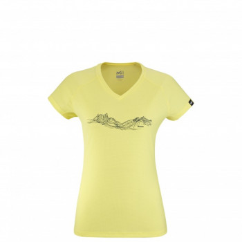 MILLET TEE-SHIRT MTN LINES WOMEN NOUVELLE COLLECTION ÉTÉ 21 SPORTS-MONTAGNES 1