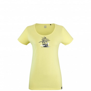 MILLET TEE-SHIRT FLOWER TOOLS WOMAN ÉTÉ 21 SPORTS-MONTAGNES