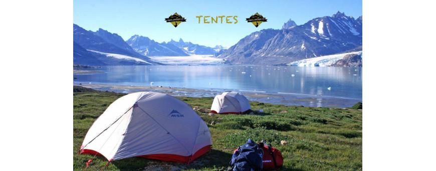Tentes, tente de randonnée légère, été hiver, 2, 3 et 4 saisons. Pour vos bivouacs, expeditions ou vos GR. un large choix de tentes.