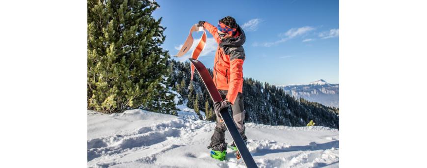 peaux de phoque, skins, peaux de ski de randonnée