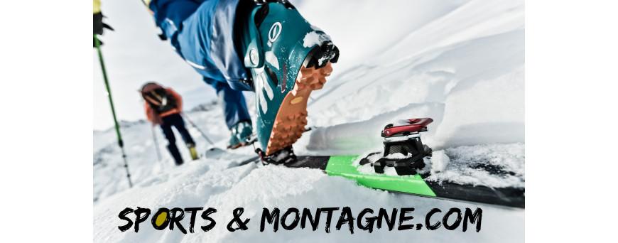chaussures de ski de randonnée  • Sports Montagnes