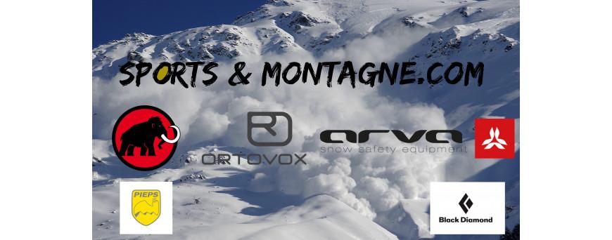 D.V.A (Detecteur de victime d'avalanches) Arva, Ortovox, Pieps, Mammut, Black Diamond,