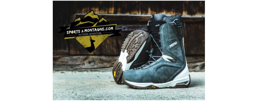 chaussures de snowboards,boots de snowboards,chaussures de split,
