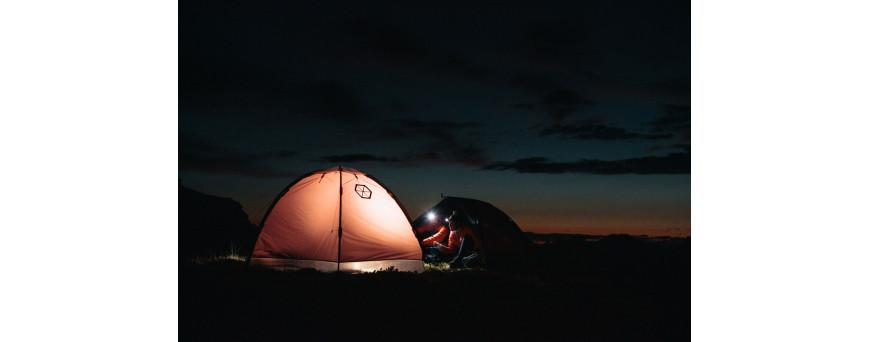 Lampes frontales et lanternes de camping pour bivouac et sports outdoor