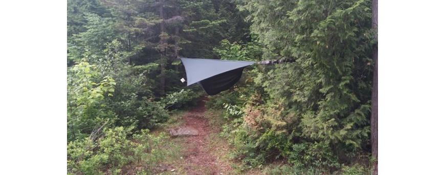Hamac de randonnée / hamac de voyage / tarp de survie / tarp bushcraft / sursac / bivi / bivy bag / tarp de bivouac / hamac de bivouac