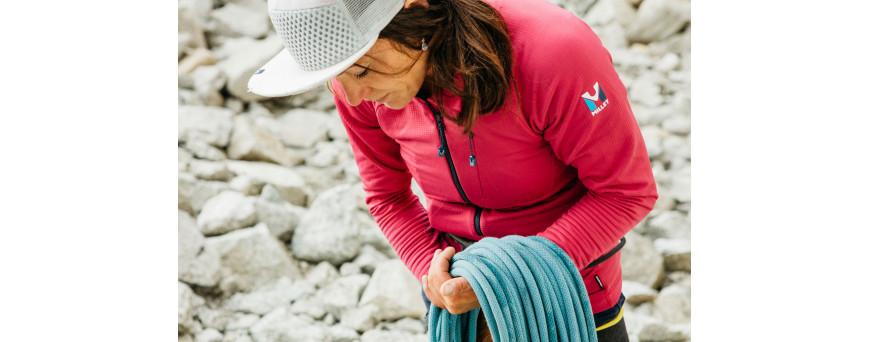 Cordes et sangles pour escalade, alpinisme et randonnée, corde à simple, corde jumelée, corde à double