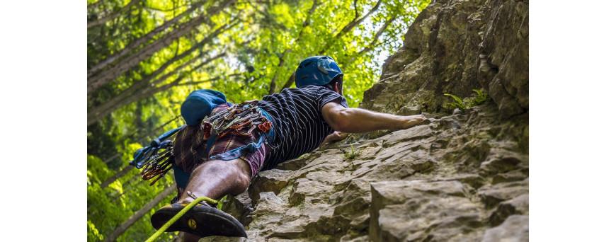 Longes et dégaines pour alpinisme, escalade et via ferrata