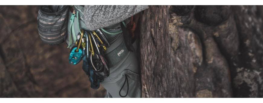 Large choix de mousquetons pour escalade, alpinisme, canyon et via ferrata • Sports Montagnes